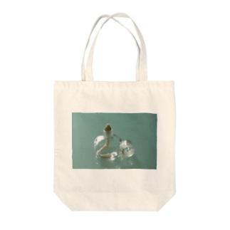 アルコールランプ(ヨコ) Tote bags