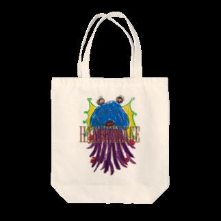 ICHITA_GAHAKUのHANEKURAGE2 Tote bags