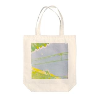 駅 Tote bags