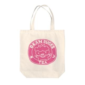 OKAN BUCKS Tote bags