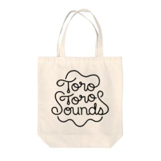 ToroToroSounds ロゴ トート Tote bags