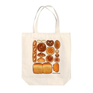 パン Tote bags