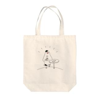[BUNNNKO CAFE ] 文鳥 Tote bags
