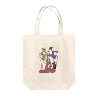 80's エアロビクス Tote bags