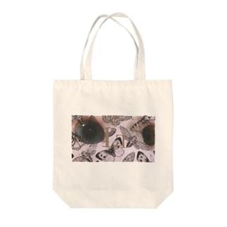 猫の眼に映る宝石 Tote bags