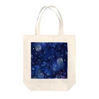 クラゲちゃん Tote bags