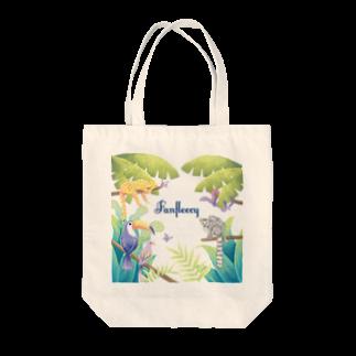 Fanfleecyのjungle Tote bags