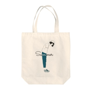 夏と女の子 Tote bags