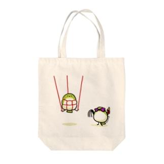 SMめじろちゃん Tote bags