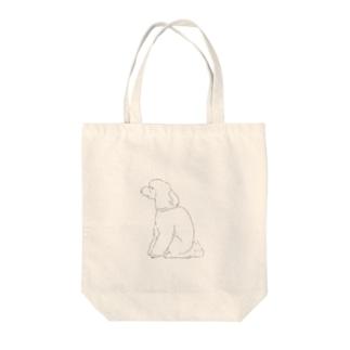 犬背 Tote bags
