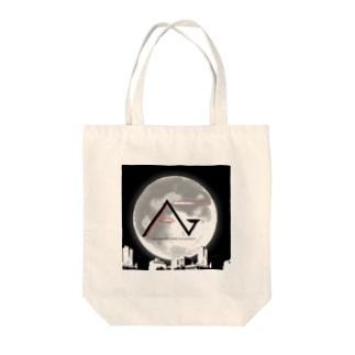 FAGロゴ/都会夜景 Tote bags
