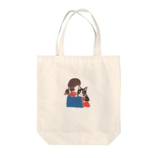 より子 Tote bags