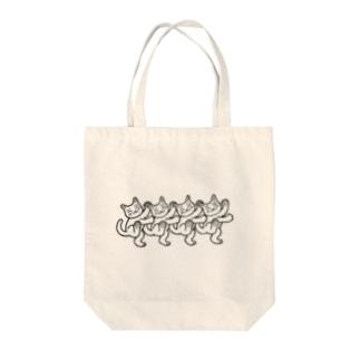 猫おどり Tote Bag