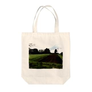 農村の風景 Tote bags