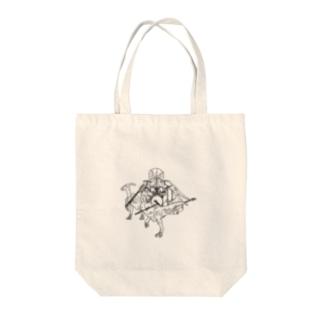 ダイナ奏 Tote bags