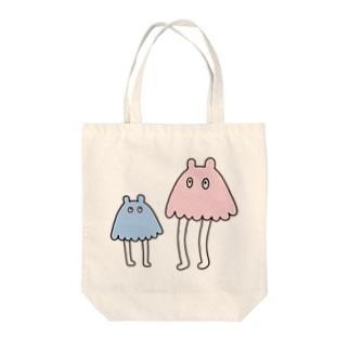 メンダコ Tote bags