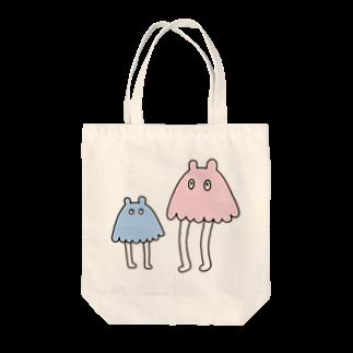 ま郎のメンダコ Tote bags