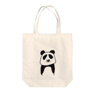 生意気パンダ Tote bags