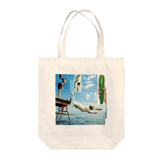 SUMMER DOGS  Tote bags