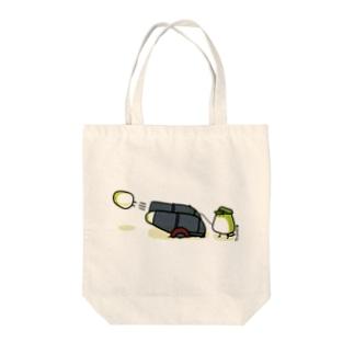 大砲めじろちゃん Tote bags