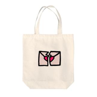 ✉︎(ふられた) Tote bags
