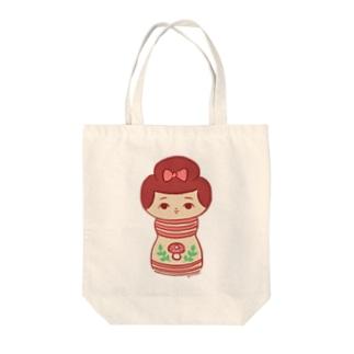 ゴンバちゃん Tote bags
