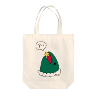 merry maguro X'mas Tote bags