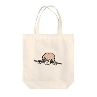 スティックくん Tote bags