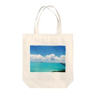 宮古島の青空グッズ Tote bags