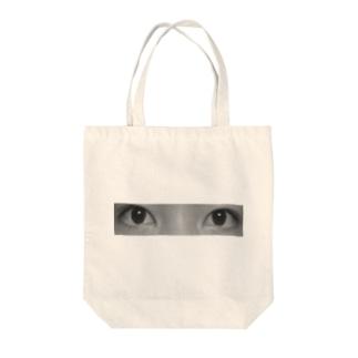 瞳 Tote bags