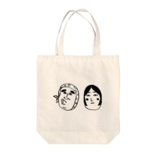 おまつり夫妻 Tote bags