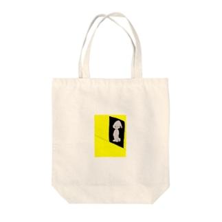 厭ヤ Tote bags
