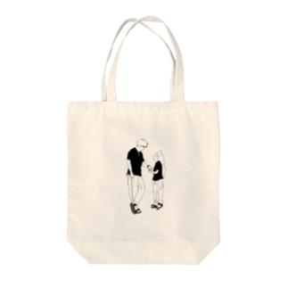 親コーデ Tote bags