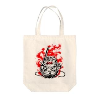 sanjyosisiの不動明王【針鼠】 Tote bags