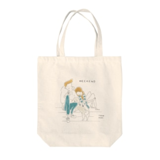 WEEKEND(Color) Tote bags