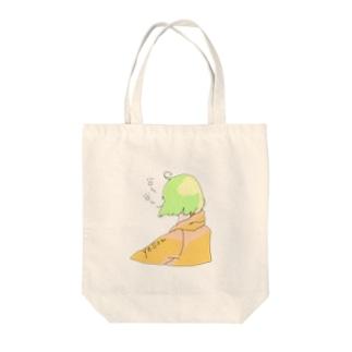 パーカーGirl Tote bags
