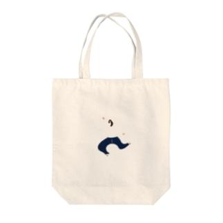 走る女の子 vol.2 Tote bags