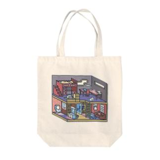 ドットお家-3 Tote bags
