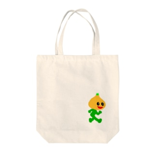 飛び出すな 玉葱 Tote bags