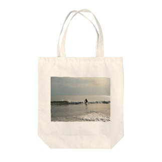 surfing Tote bags