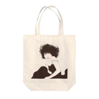 美人画ふうかちゃん Tote bags