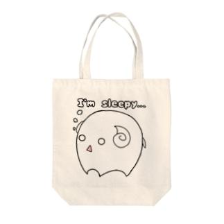 まるまるシリーズ第5弾…ヒツジ Tote bags