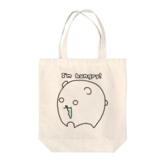 まるまるシリーズ第6弾…クマ Tote bags