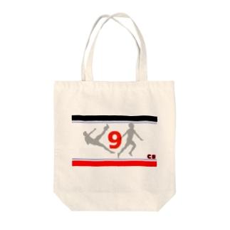 コンサのエースモチーフ Tote bags