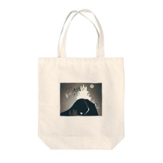 吸血鬼のお城 Tote bags