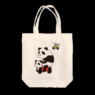 チョッちゃんのパンダカー Tote bags