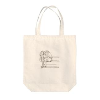 モラトリアム Tote bags