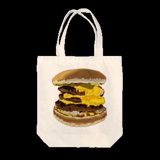 Alteredのハンバーガー Tote bags