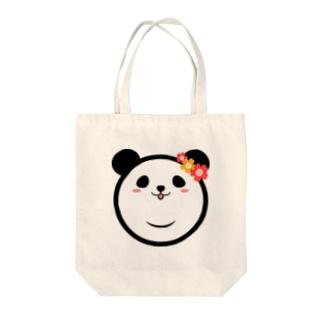 Panda Lele&Hehe Tote bags