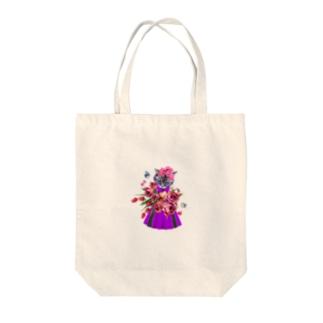 おしゃれぬこ Tote bags